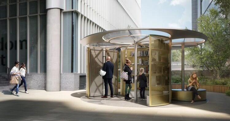 The Snøhetta Book Pavilion