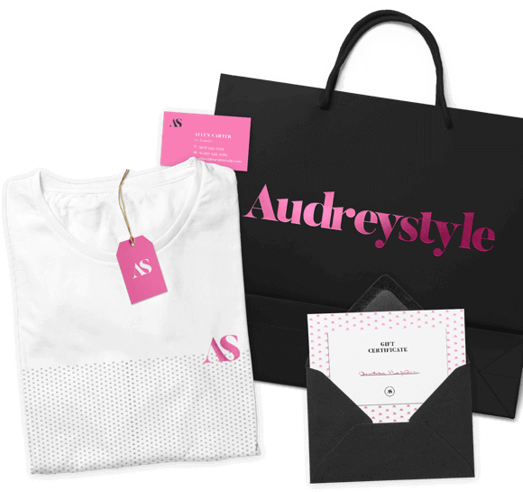 Audreystyle branding Package