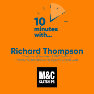 Richard Thompson - Ten Minutes with podcast series