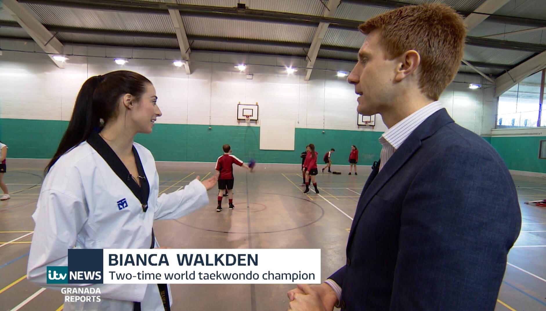 ITV News Granada Reports - Bianca Walkden