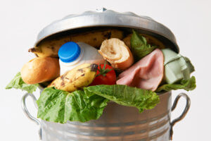 Fresh Food In Garbage Can To Illustrate Waste - The PHA Group
