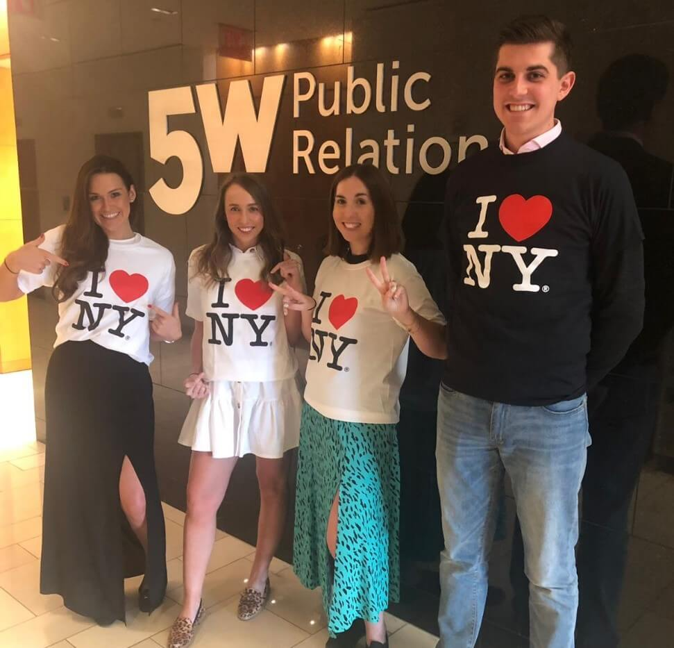 5W Public Relations, I love New York wlecome jumpers