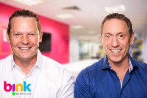 BINK co-founders Lee Clarke and Greg Gormley
