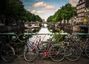 Amsterdam river image