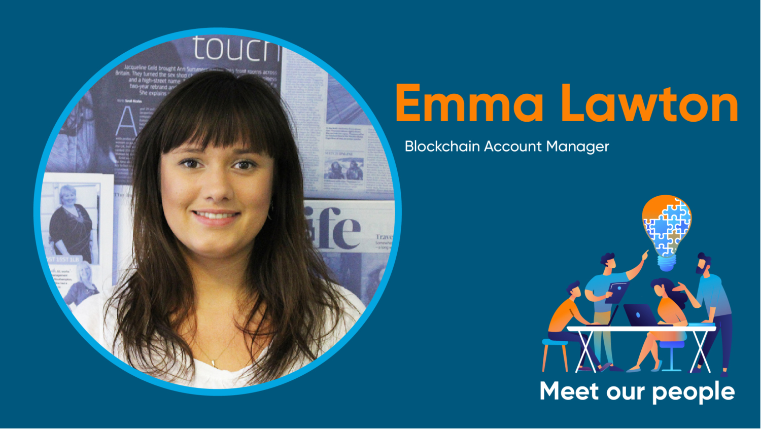 Emma Lawton, meet our people