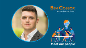 Ben Cossor Fintech Account Director