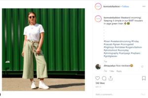 Komodo british clothing sustainable