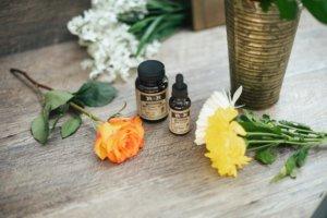CBD oil beauty product