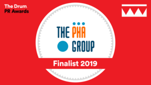 The PHA Group finalists - The Drum PR Awards