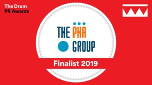 The Drum PR Awards = The PHA Group