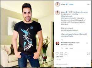 Dr Ranj instagram jeans for genes