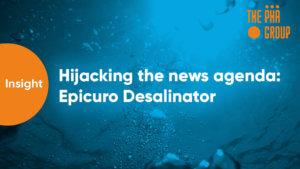 Hijacking the news agenda – Epicuro Desalinator