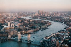 London skyline imagery