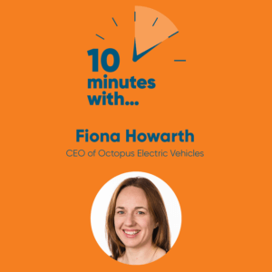 Fiona Howarth Octopus Electric Vehicules podcast