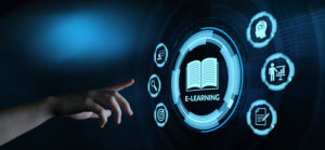 E-learning Education Internet Webinar Online Courses concept