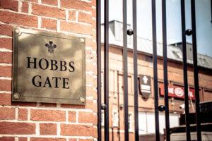Hobbs Gate Surrey County cricket club
