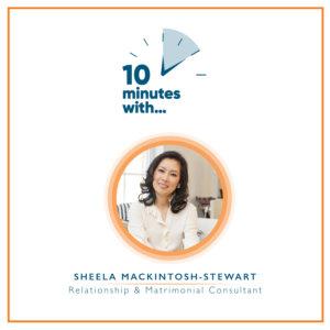 Podcast Sheela Mackintosh-Stewart 10 minutes with