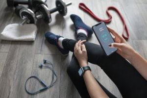 A fitness app