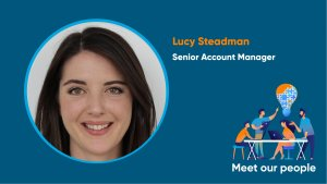Meet our people; Lucy Steadman