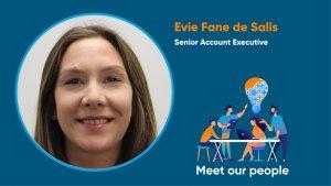 Evie Fane de Salis, Senior Account Executive