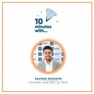 Ten minutes with Salman-Moghimi