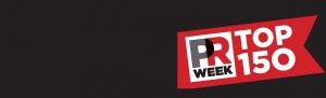 PR Week Top 150 homepage